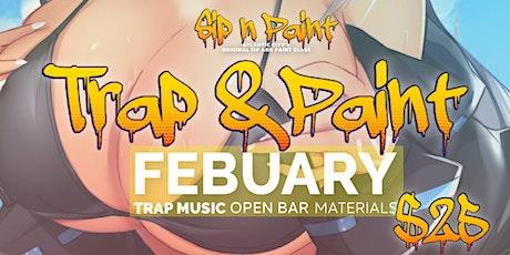 Trap & Paint Atlantic City tickets