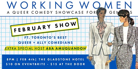 Working Women Comedy - February  Show 2020 tickets