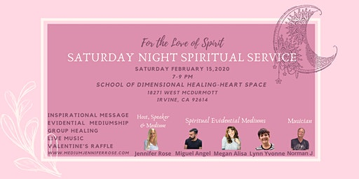 Saturday Night Spiritual Service