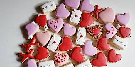 Valentine's Day themed Sugar Cookie Decorating Workshop tickets
