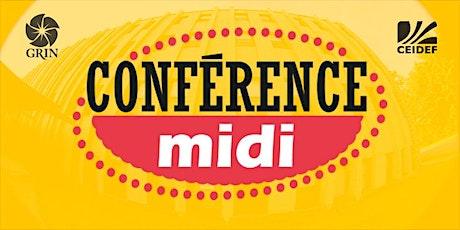 Midi - Conférence billets