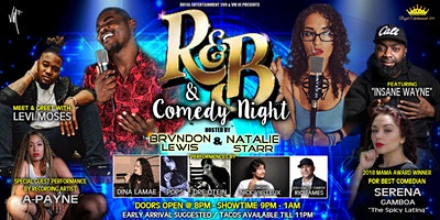 Royal Ent. & VMIII Presents R&B and Comedy Night