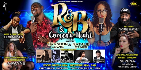 Royal Ent. & VMIII Presents R&B and Comedy Night tickets
