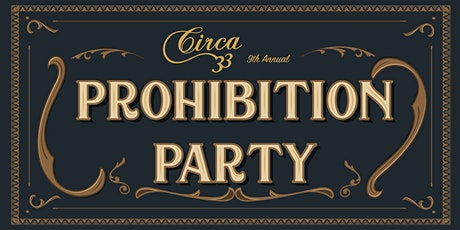 9th Annual Prohibition Party tickets