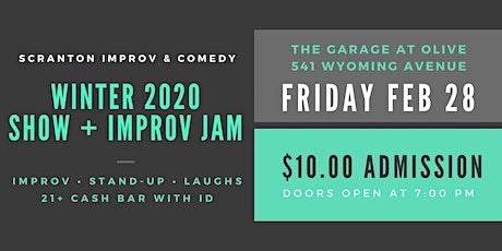Scranton Improv & Comedy Winter 2020 Show! Come Laugh with Us! tickets