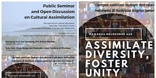 Seminar Umum dan Diskusi Terbuka tentang Asimilasi Budaya