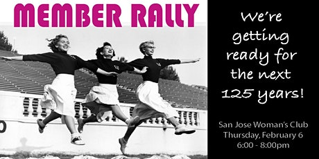 SJWC Member Rally 2020 tickets