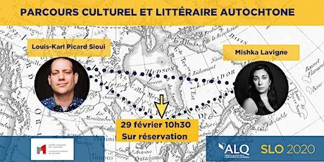 Parcours culturel et littéraire autochtone billets