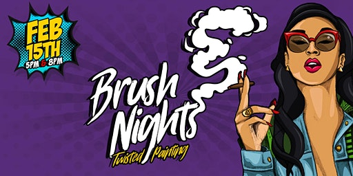 "Brush Nights ""Twisted Painting"""