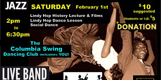A Harlem Lindy Hop Experience!  Black History Month Special BYOB