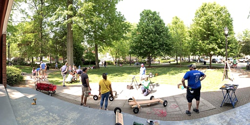Rutherford Downhill Derby Build-A-Car Workshop in the Park!