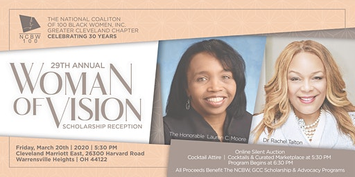 NCBW100 Inc. Cleveland 29th Annual Women of Vision  Scholarship Reception