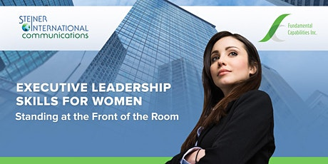 Standing at the Front of the Room: A Roundtable Workshop for Senior Leaders tickets