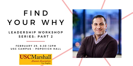 Leadership Workshop, Part 2: Find Your Why tickets