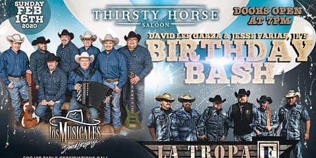 David Lee Garza & Jesse Farias Jr Birthday Bash tickets