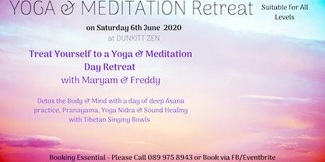 Yoga & Meditation Retreat tickets