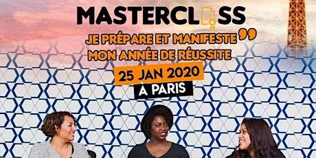 Masterclass #IREVEALMYSELF : Je prépare et manifeste mon année de réussite billets