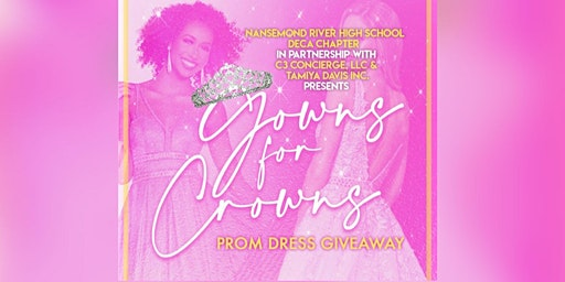 Gowns For Crowns Prom Dress Give-A-Way