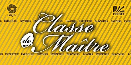 Classe de Maître avec Diane Dubeau, interviewée par Carl Lacharité tickets