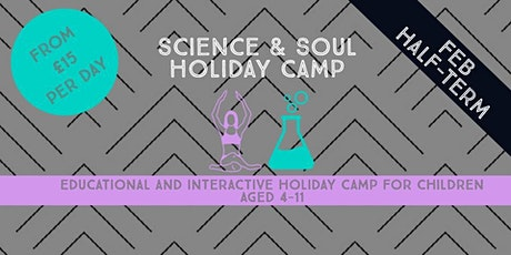 Science and Soul Holiday Camp tickets