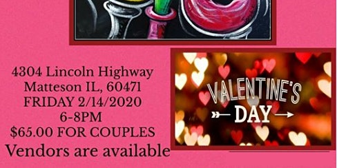 Valentine's Day Paint and Sip Party, Hosted by Lady FeFee