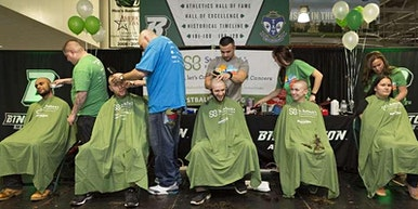 """St. Baldrick's """"Brave the Shave"""" Fundraiser Childhood Cancer Research"""