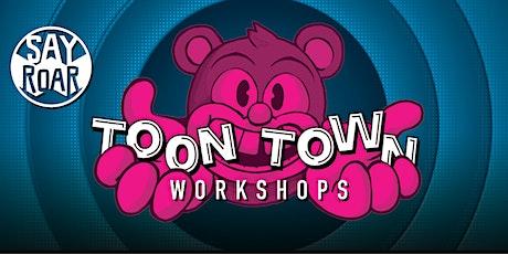 SayRoar Toon Town Workshops • Character 2 Design (Pt2) tickets
