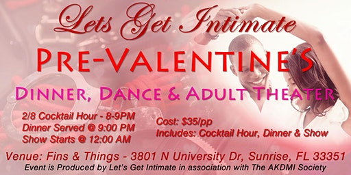 Pre-Valentine's Dinner Dance & Adult Theater