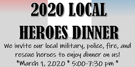 2020 Local Heroes Dinner tickets
