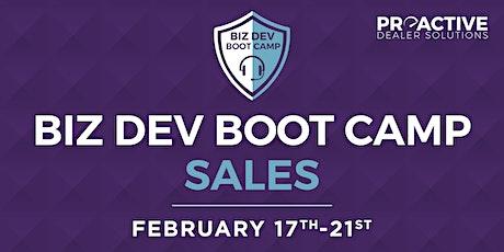 February - Biz Dev Boot Camp Sales tickets
