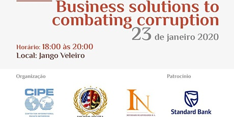 Business solutions to combating corruption tickets