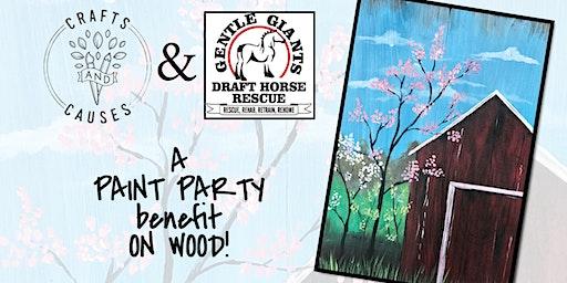 Paint Party Benefit