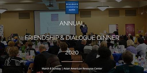 2020 Annual Friendship & Dialogue Dinner