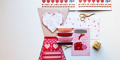 Sunday Fun Day Valentines Craft Extravaganza for ages 7+
