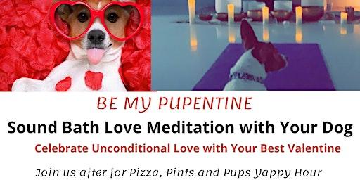 Be My Pupentine!   Valentine's  Sound Bath Love Meditation with Your Dog