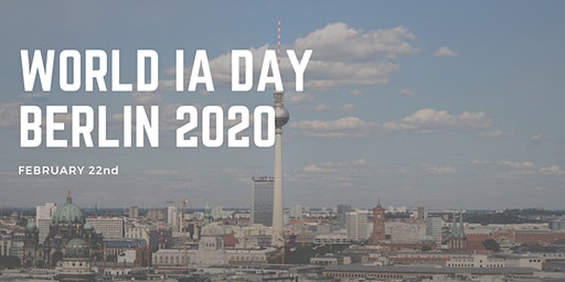 WORLD IA DAY BERLIN 2020
