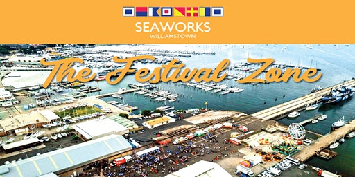 Seaworks Festival Zone - Part of the Williamstown Seaport Festival