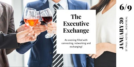 The Executive Exchange Networking Evening (3.0) billets