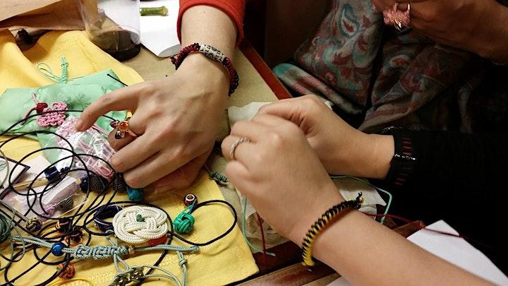 Korean Knotted Bracelets Workshop image