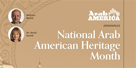 Arab America Announces National Arab American Heritage Month-- Virginia tickets