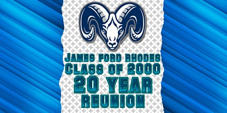 James Ford Rhodes Class of 2000 20 year reunion tickets
