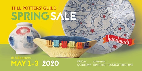 Hill Potters' Guild Spring Sale tickets