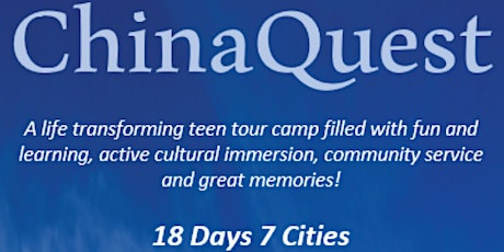 ChinaQuest Summer Camp Information Session tickets