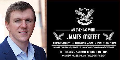 James O'Keefe April Speaker Series tickets