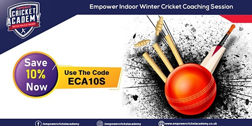 Slough Indoor Cricket Coaching 10% off on this Winter 2020