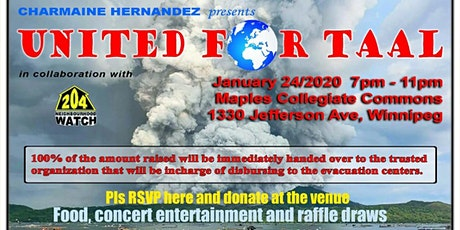 United For Taal Fundraising tickets