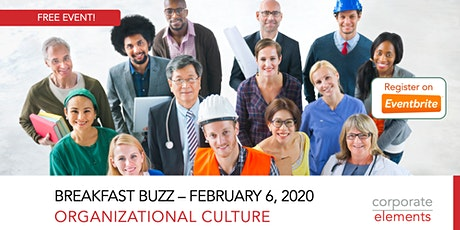Breakfast Buzz: Organizational Culture tickets