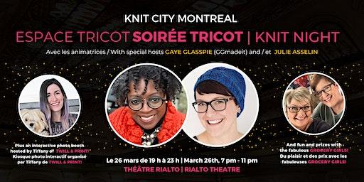Soirée tricot avec Espace Tricot – Espace Tricot Knit Night