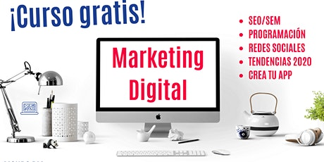 MKT Digital para principiantes ¡Empieza a vender por Internet! entradas