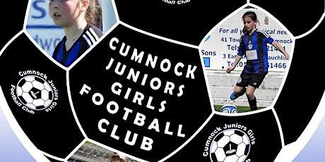 Cumnock Juniors Girls FC Awards Afternoon tickets